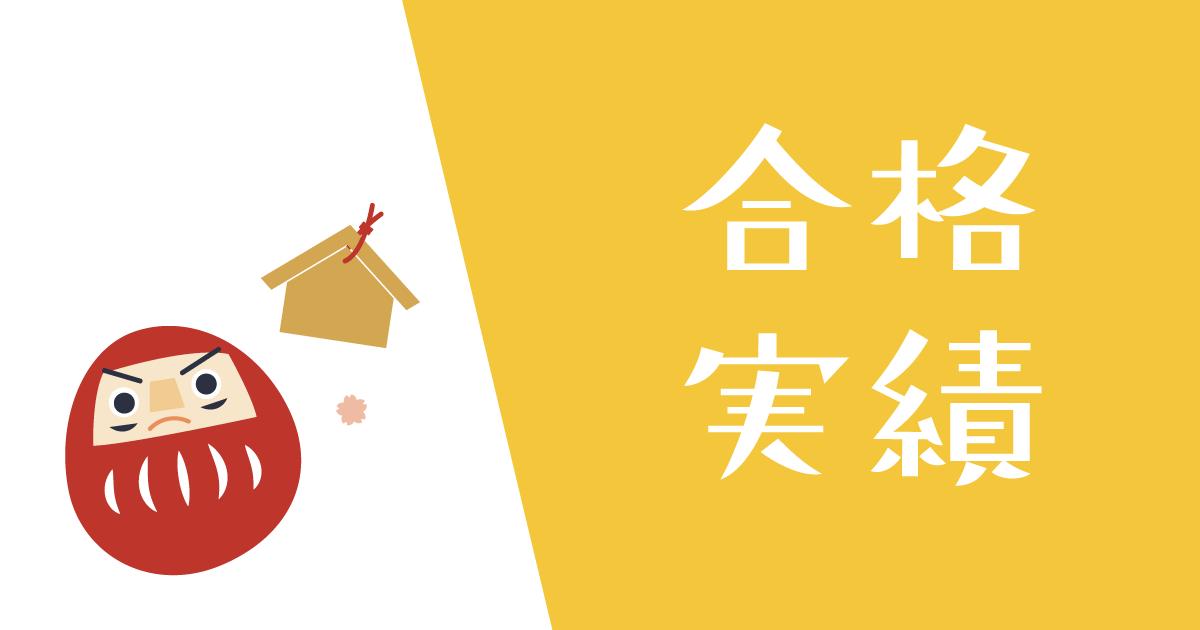 京進スクールワンの合格実績